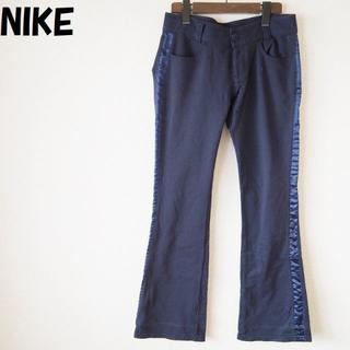 ナイキ(NIKE)の【人気】NIKE/ナイキコットンパンツ サイドライン サイズL レディース(カジュアルパンツ)