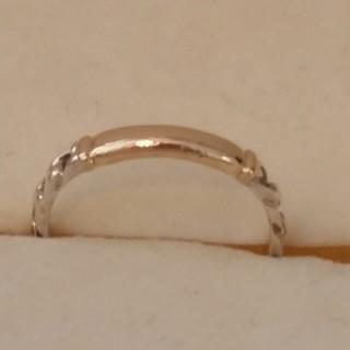 ヨンドシー(4℃)の4℃ k10ピンクゴールド×シルバー 指輪 リング (リング(指輪))