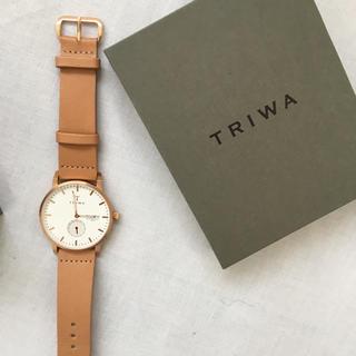 トリワ(TRIWA)のTRIWA  腕時計  美品(腕時計)