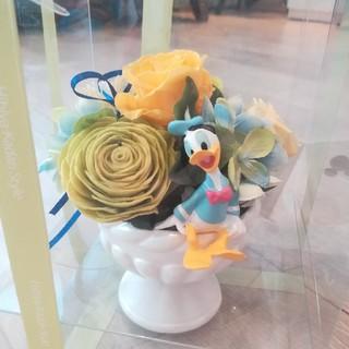 ディズニー(Disney)の日比谷花壇 プリザーブドフラワー ドナルド(置物)