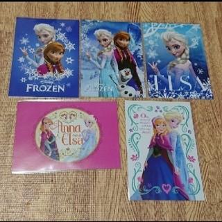 ディズニー(Disney)のアナ雪 ポストカード 5枚セット(写真/ポストカード)