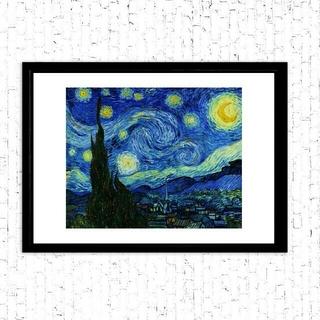 【新品、送料込み】星月夜(ゴッホ)、A3サイズ、絵画風アートポスター、即購入OK