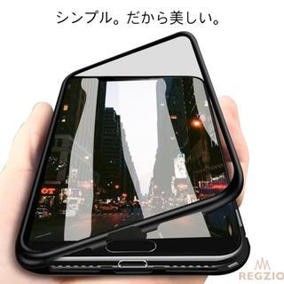 REGZIO iPhone7/8.x/xs 両面強化ガラスケース 航空アルミ