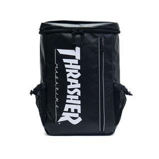 スラッシャー(THRASHER)のTHRASHER BAG バック リュック THRTP505 BLKWHT 黒(バッグパック/リュック)