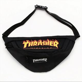 スラッシャー(THRASHER)の正規品 スラッシャー ウエストポーチ ウエストバッグ 美品★supreme(ウエストポーチ)