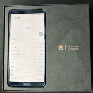 ANDROID - HUAWEI Mate10 Pro BLA−L09