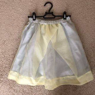 バナーバレット(Banner Barrett)のバナーバレット シフォンスカート(ひざ丈スカート)