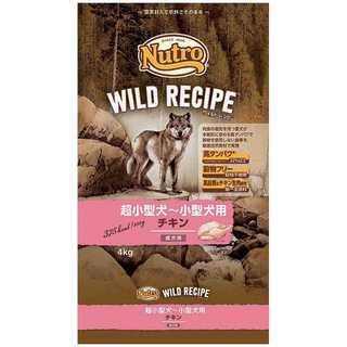 ニュートロジャパン ワイルドレシピ超小~小型成犬用チキン4kg(その他)