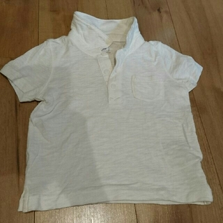e9fe2ebdeddc9 ベビーギャップ(babyGAP)のGAP ギャップ 18-24ヶ月用 白ポロシャツ(