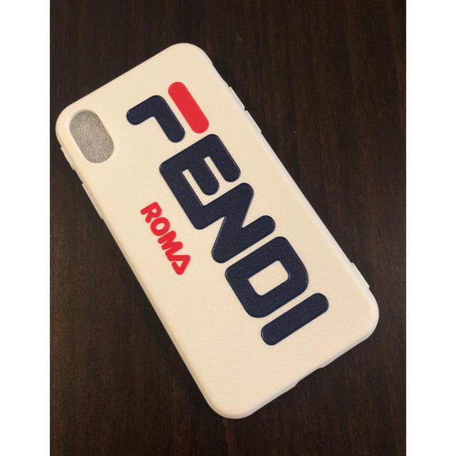 FENDI - 新品未使用 FENDI iPhoneケース フェンディ iPhone X ケースの通販 by yuzu♡'s shop|フェンディならラクマ