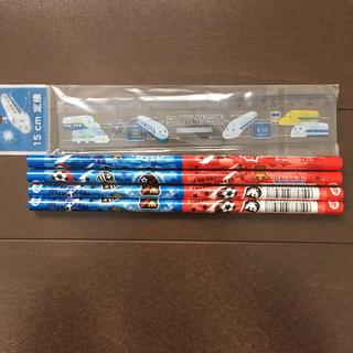 新品★赤青えんぴつ 15cm定規セット(鉛筆)