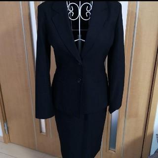 アールユー(RU)のru アールユー スカート スーツ ブラック フォーマル S(スーツ)