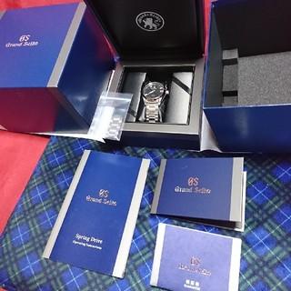 グランドセイコー(Grand Seiko)の2018年12月購入品☆sbga285☆グランドセイコー スプリングドライブ(腕時計(アナログ))