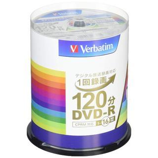 三菱ケミカルメディア Verbatim 1回録画用DVD-R(CPRM) VHR(DVDレコーダー)