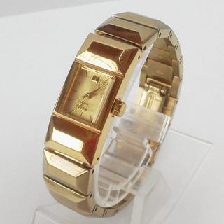 カバンドズッカ(CABANE de ZUCCa)のzucca稼働品◎ズッカ腕時計ゴールド(腕時計)