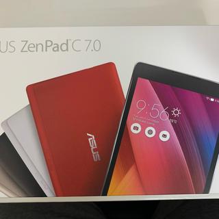 エイスース(ASUS)の◆未開封!! ASUS ZenPad C7.0 P01Z Z170C-BK08(タブレット)