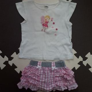 ジンボリー(GYMBOREE)の♥ジンボリー♥ セットアップ  80cm(Tシャツ)