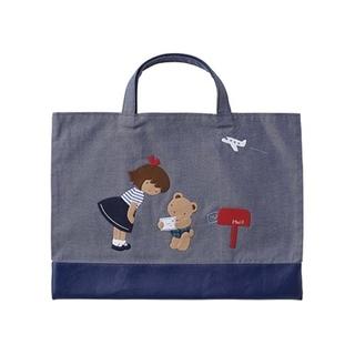 familiar - ファミリア デニムバッグ プレゼント包装済