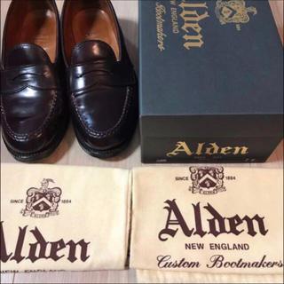 オールデン(Alden)のAlden オールデン ペニーローファー  986 バーガンディ 7E(ドレス/ビジネス)