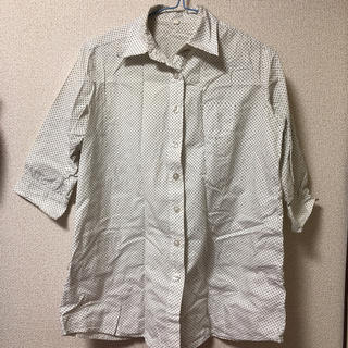 ハンジロー(HANJIRO)のドットシャツ(シャツ/ブラウス(長袖/七分))