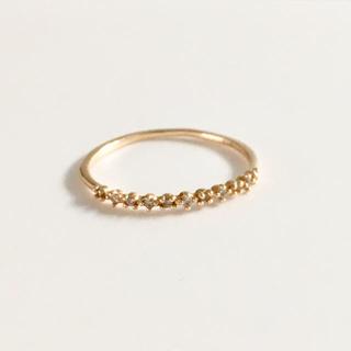 アーカー(AHKAH)のSIENA リング(リング(指輪))