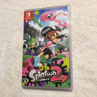 Nintendo Switch - スプラトゥーン 2      switch