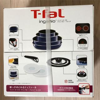 ティファール(T-fal)のティファール T-fal インジニオ・ネオグランブルー プレミア セット9(鍋/フライパン)