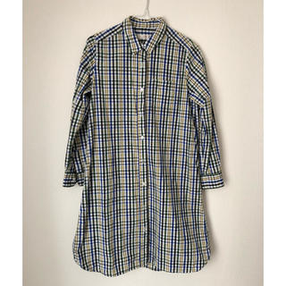 チャイルドウーマン(CHILD WOMAN)のCHILD WOMAN☆ロングのチェックシャツ(シャツ/ブラウス(長袖/七分))