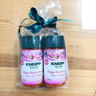 クナイプ(Kneipp)のクナイプ バスソルト 80g×2個 スイートバイオレット&マグノリア(入浴剤/バスソルト)