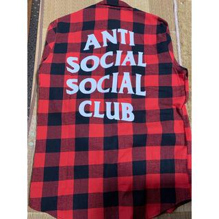アンチ(ANTI)のANTI SOCIAL SOCIALCLUB シャツ(シャツ)