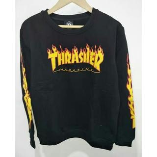 スラッシャー(THRASHER)の大人気THRASHER スラッシャー カーパー ブラック(パーカー)