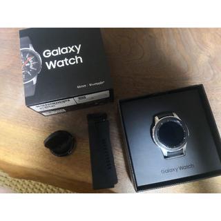 サムスン(SAMSUNG)のGalaxy Watch SM-R800NZSAXJP シルバー(その他)