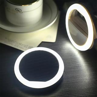 LED セルフィーライト(ストロボ/照明)