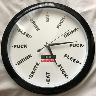 ハフ(HUF)のHUF × SKATE MENTAL HUF MENTAL CLOCK(腕時計(アナログ))