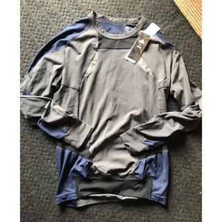 カラー(kolor)のadidas by  kolor バイカラー カットソー(Tシャツ/カットソー(七分/長袖))