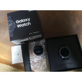 サムスン(SAMSUNG)のGalaxy Watch SM-R810NZKAXJP [ミッドナイトブラック](その他)