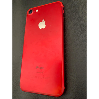 Apple - iphone7 PRODUCT RED 128GB