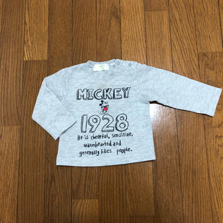 ディズニー(Disney)のディズニー 長袖 Tシャツ 70cm(Tシャツ)