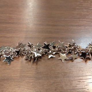 キワセイサクジョ(貴和製作所)の貴和・星チェーン・㍍6500円→1300円・ライトゴールド(各種パーツ)