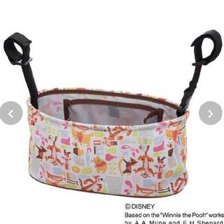 ディズニー(Disney)のプーさん ベビーカーバッグ(ベビーカー用アクセサリー)