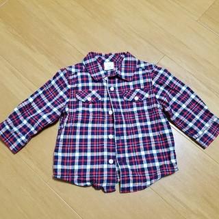 ジンボリー(GYMBOREE)のジンボリー チェックシャツ(Tシャツ/カットソー)