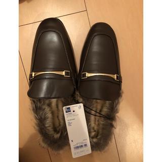ジーユー(GU)のGU ローファースリッパ(ローファー/革靴)