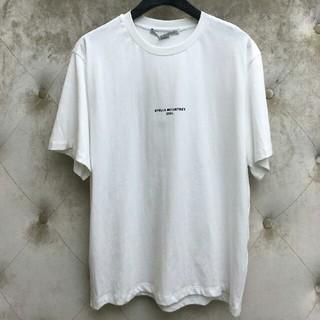ステラマッカートニー(Stella McCartney)のSTELLA MCCARTNEY ホワイト T-シャツ お肌に親しい S (Tシャツ/カットソー(半袖/袖なし))