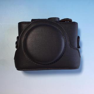 Sony DSC-RX100用 カメラケース ショルダーベルト付(ケース/バッグ)