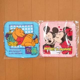 ディズニー(Disney)の【新品】ディズニー タオルハンカチ(その他)