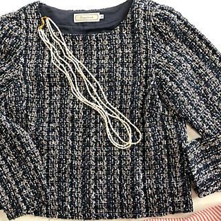 クチュールブローチ(Couture Brooch)の美品 couture brooch  アナトリエ プルオーバー(シャツ/ブラウス(長袖/七分))
