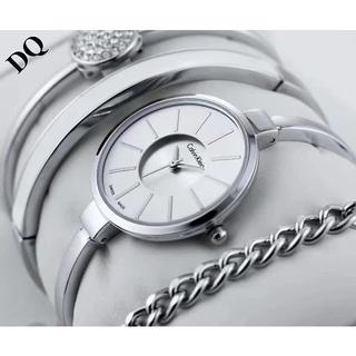 カルバンクライン(Calvin Klein)のカルバンクラCalvin Klein腕时計 レディース  ブレスレット シルバー(腕時計)