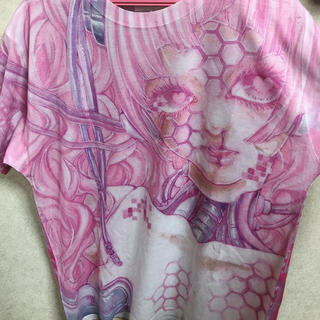 ナイルパーチ(NILE PERCH)の少女顕示欲革命(Tシャツ(半袖/袖なし))