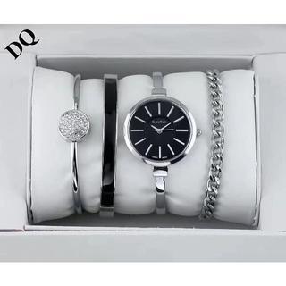 カルバンクライン(Calvin Klein)のカルバンクラCalvin Klein腕时計 レディース ブレスレット ブラック(腕時計)