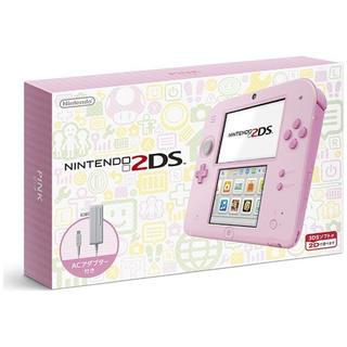 ニンテンドー2DS(ニンテンドー2DS)のニンテンドー2DS ピンク 新品(携帯用ゲーム本体)